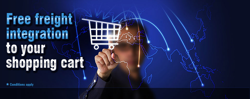 Free Freight Integration to Your Shopping Cart